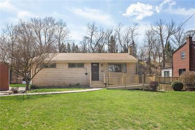 Bethel Park Single Family Home For Sale: 3027 Greenwald