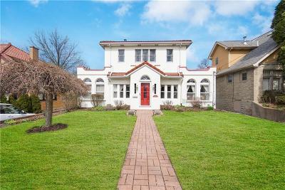 Mt. Lebanon Single Family Home For Sale: 68 Vernon Dr