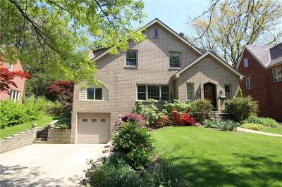 Mt. Lebanon Single Family Home For Sale: 72 Mount Lebanon Blvd.