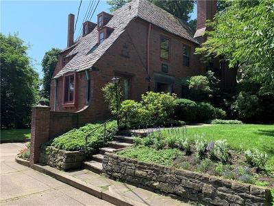 Squirrel Hill Single Family Home For Sale: 5426 Darlington Rd