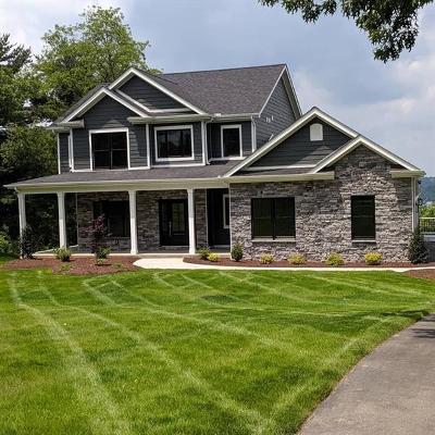 Upper St. Clair Single Family Home For Sale: 1321 Lesnett Road