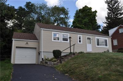 Upper St. Clair Single Family Home Active Under Contract: 318 Howard Dr
