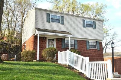 Penn Hills Single Family Home Active Under Contract: 305 Cypress Hill Dr