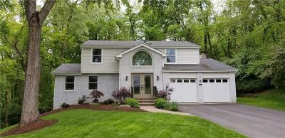 Upper St. Clair Single Family Home For Sale: 2561 Partridge Drive