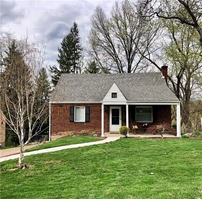 Bethel Park Single Family Home Active Under Contract: 3030 Aljean Drive