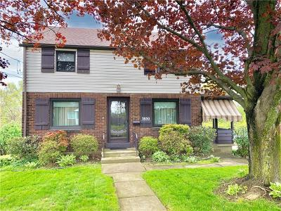 Forest Hills Boro Single Family Home For Sale: 3850 Greensburg Pike