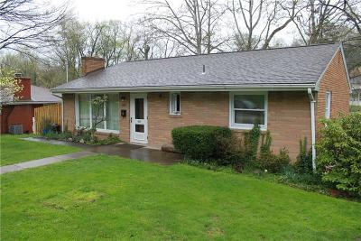Greensburg, Hempfield Twp - Wml Single Family Home For Sale: 465 Willow Ave