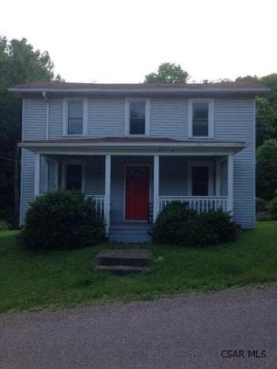 Somerset/Cambria County Single Family Home For Sale: 421 Fort Hill Road