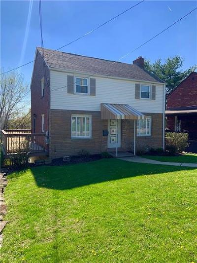 Forest Hills Boro Single Family Home For Sale: 4032 Greensburg Pike