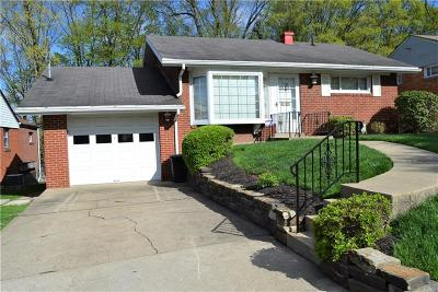 Wilkins Twp Single Family Home Active Under Contract: 116 Frazier Dr