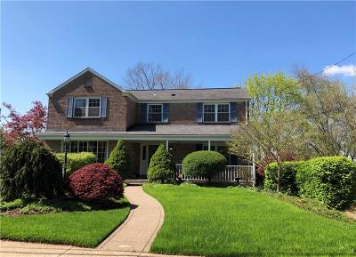 Wilkins Twp Single Family Home Active Under Contract: 181 Penhurst Drive