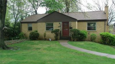 Bethel Park PA Single Family Home Sold: $160,000