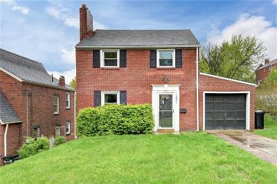 Forest Hills Boro Single Family Home Active Under Contract: 1331 Brinton Road