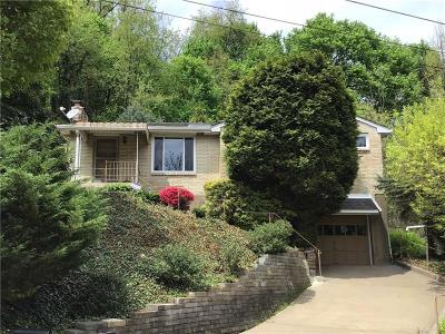 Forest Hills Boro Single Family Home For Sale: 1606 Lafayette Rd