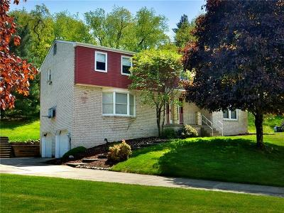 Murrysville Single Family Home Active Under Contract: 3823 Harwick Ct