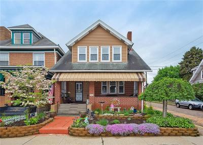 Swissvale Single Family Home For Sale: 7220 Schoyer