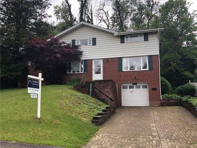 Wilkins Twp Single Family Home Active Under Contract: 119 Delaney