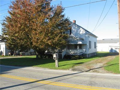 Single Family Home For Sale: 1547 Mt. Pleasant/Connellsville Road