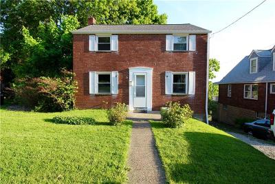 Wilkinsburg Single Family Home Active Under Contract: 1627 Doyle St