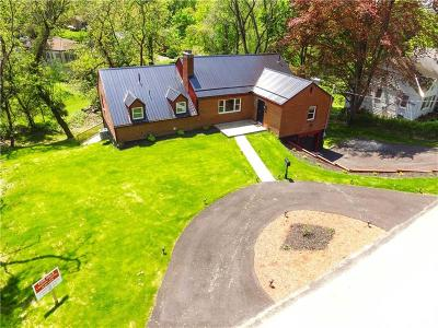 Penn Hills Single Family Home Active Under Contract: 535 Springdale Drive
