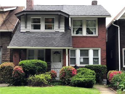 Swissvale Single Family Home Active Under Contract: 2412 S Braddock Ave