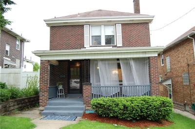 Swissvale Single Family Home Active Under Contract: 2116 Lloyd Avenue