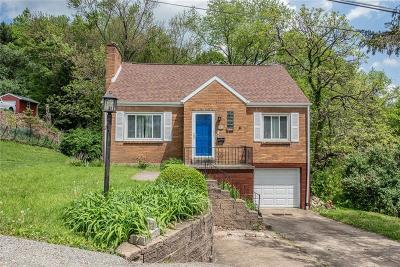 Murrysville Single Family Home Active Under Contract: 3235 Chalmers Ave