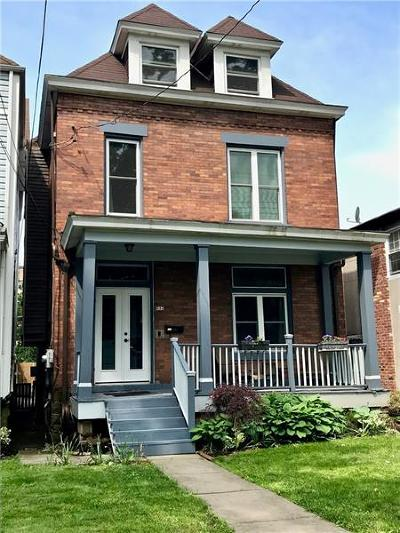 Regent Square Single Family Home For Sale: 824 East End Avenue