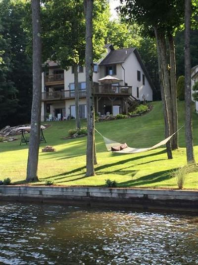Somerset/Cambria County Single Family Home Active Under Contract: 790 West Shore Trail Ext.
