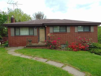 Westmoreland County Single Family Home For Sale: 9756 Don Drive