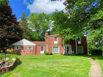 Wilkins Twp Single Family Home Active Under Contract: 3576 Ridgewood Drive