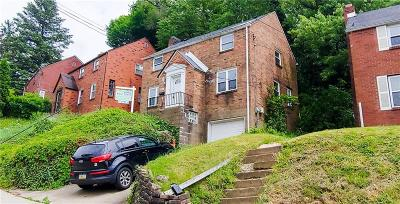 Wilkinsburg Single Family Home For Sale: 2228 Chalfant St