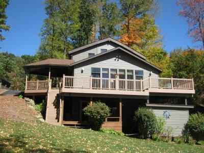 Indian Lake Boro Single Family Home Active Under Contract: 121 N Peninsula Dr