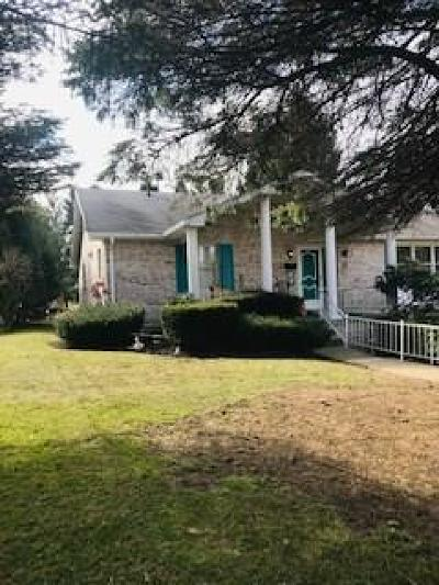 Single Family Home For Sale: 603 1/2 State Route 130