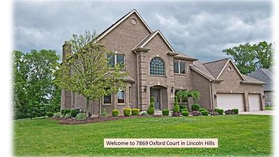 Single Family Home For Sale: 7869 Oxford Ct