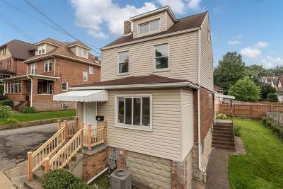 Swissvale Single Family Home For Sale: 2210 Hampton