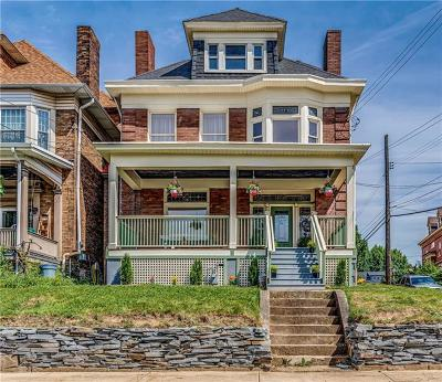 Wilkinsburg Single Family Home For Sale: 423 Hampton Ave