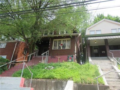 Wilkinsburg Single Family Home For Sale: 542 Midland Street