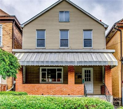 Swissvale Single Family Home Active Under Contract: 7356 Schley Ave
