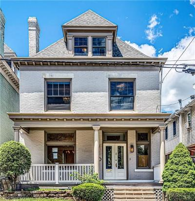 Shadyside Single Family Home For Sale: 5707 Walnut Street