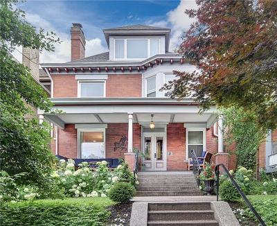 Regent Square Single Family Home For Sale: 617 Hampton Ave.