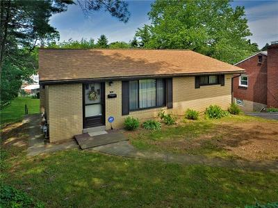Forest Hills Boro Single Family Home For Sale: 3710 Greensburg Pike
