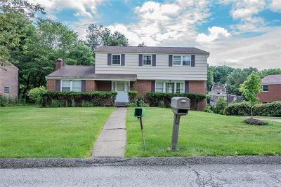 Wilkins Twp Single Family Home For Sale: 1459 Laurel Drive