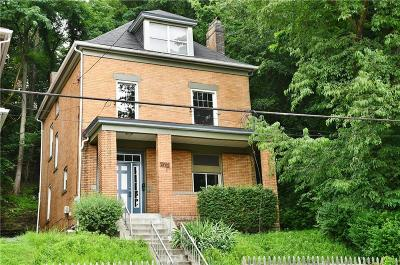 Swissvale Single Family Home Active Under Contract: 2403 S Braddock Avenue