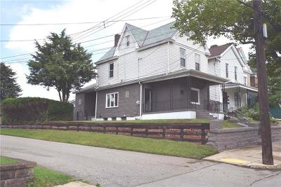 Swissvale Single Family Home For Sale: 7317 Denniston Ave