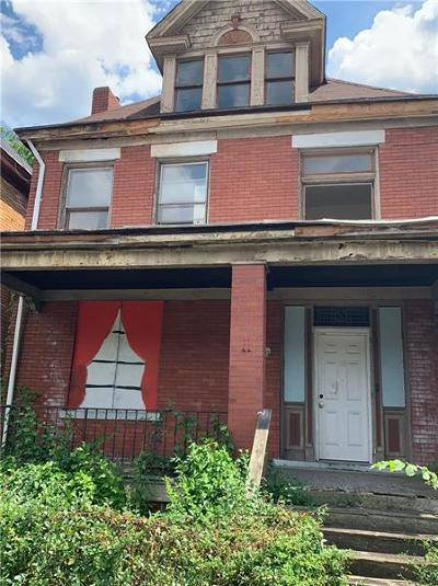 Wilkinsburg Single Family Home For Sale: 1710 Montier St