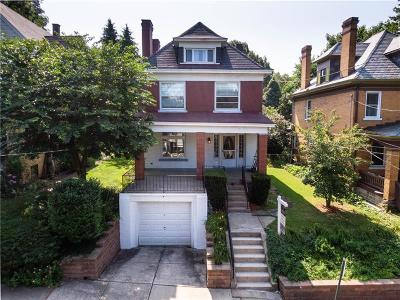 Swissvale Single Family Home For Sale: 8006 Westmoreland Ave.