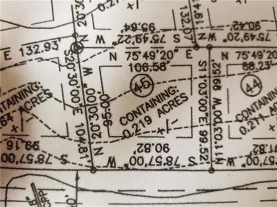 Somerset/Cambria County Residential Lots & Land For Sale: Lot 45 Pammi Road