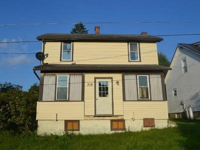 Central City Borough Single Family Home For Sale: 318 North Ave