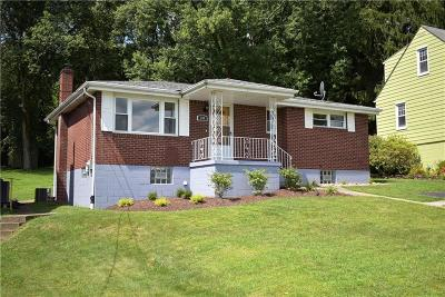 Westmoreland County Single Family Home For Sale: 280 Brownstown Road